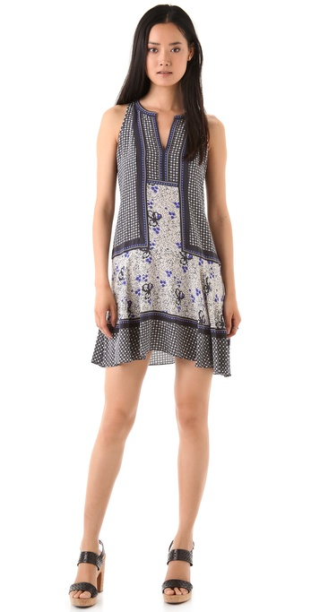 Rebecca Taylor Print Shift Dress