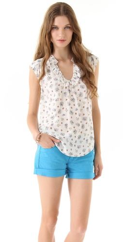 Rebecca Taylor Summer Blossom Top