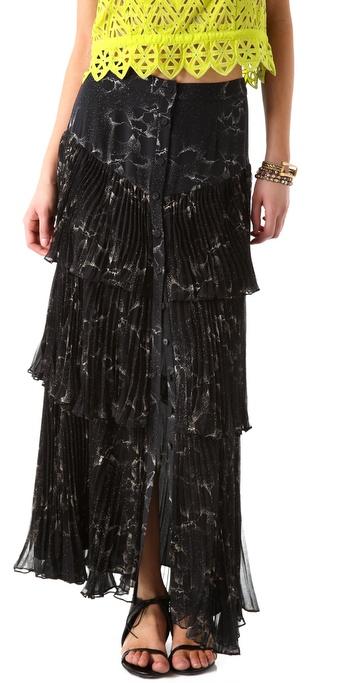Rebecca Taylor Aristotle Maxi Skirt