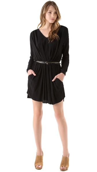 Rebecca Taylor Ruched Front Dress