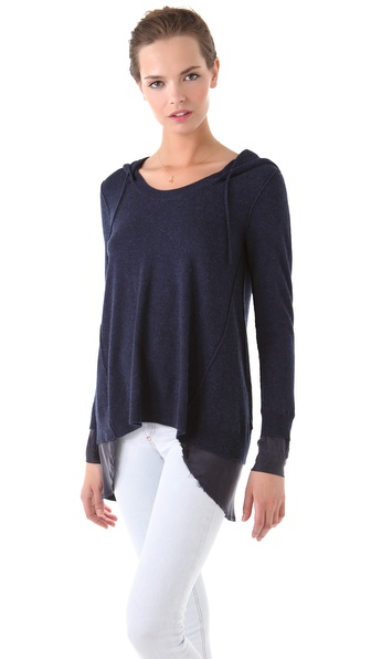 Rebecca Taylor Combo Pullover