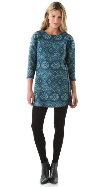 Rebecca Taylor Chimayo Tunic Dress