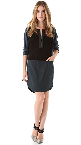 Rebecca Taylor Denim Dress