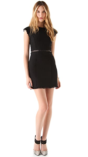 Rebecca Taylor Tweed Work Shift Dress