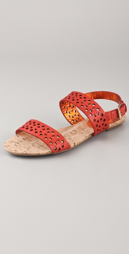 Rebecca Taylor Claudia Perforated Sandals