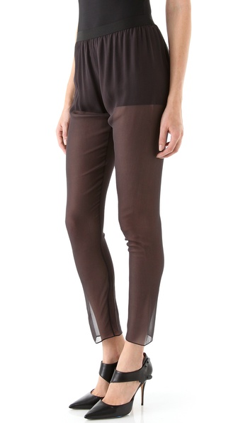 Rebecca Taylor Chiffon Leggings
