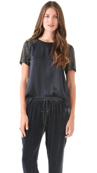 Rebecca Taylor Nailhead Tee