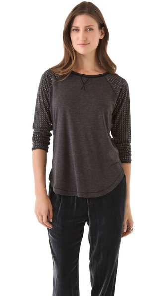 Rebecca Taylor Nailhead Jersey Tee