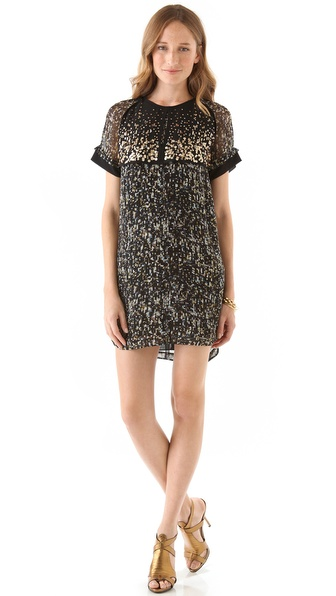 Rebecca Taylor Sequin Embellished Dress