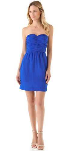 Rebecca Taylor Sweetheart Strapless Dress at Shopbop.com