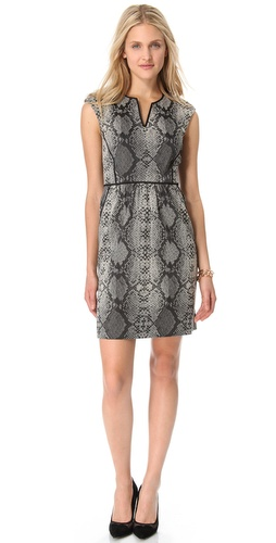 Rebecca Taylor Python Dress at Shopbop.com