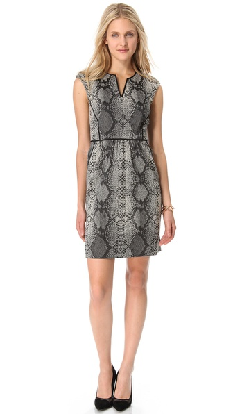 Rebecca Taylor Python Dress