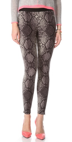 Rebecca Taylor Stretch Python Pants at Shopbop.com
