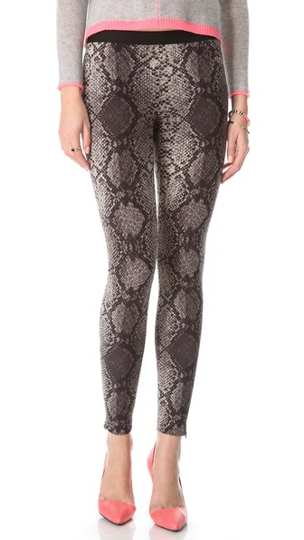 Rebecca Taylor Stretch Python Pants