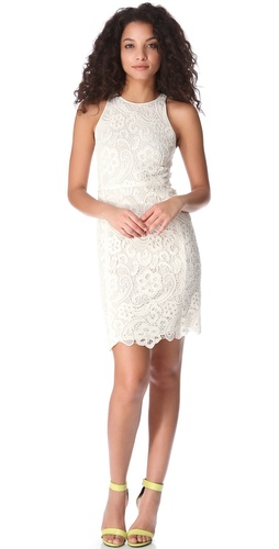 Rebecca Taylor Sleeveless Lace Dress at Shopbop.com