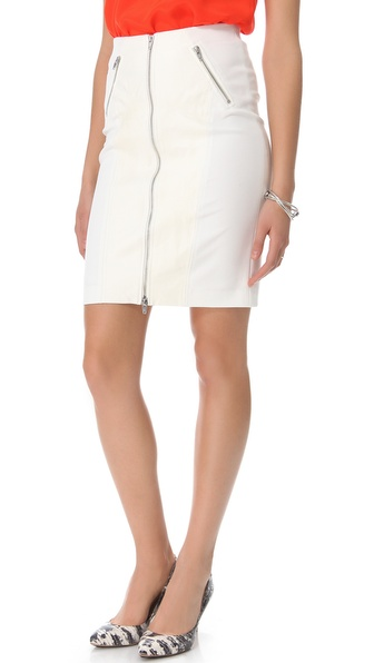 Rebecca Taylor Ponte Skirt