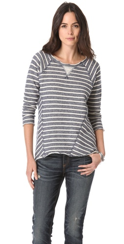 Rebecca Taylor Stripe Sweatshirt at Shopbop.com