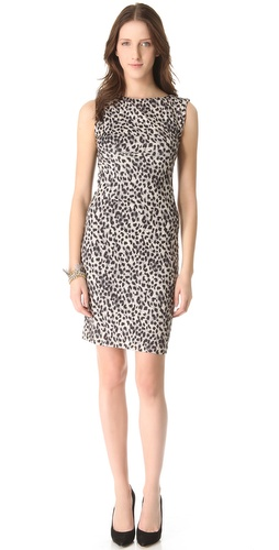 Rebecca Taylor Leopard Print Sheath Dress at Shopbop.com