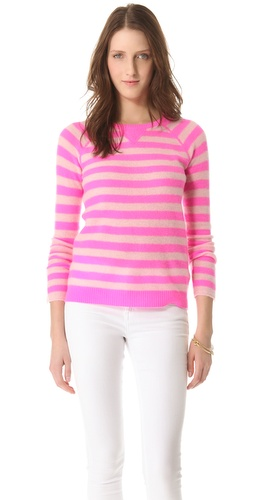 Rebecca Taylor Striped Pullover at Shopbop.com