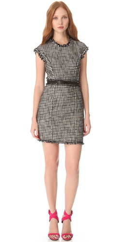 Rebecca Taylor Tweed Shift Dress at Shopbop.com