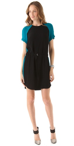 Rebecca Taylor Colorblock Dress at Shopbop.com
