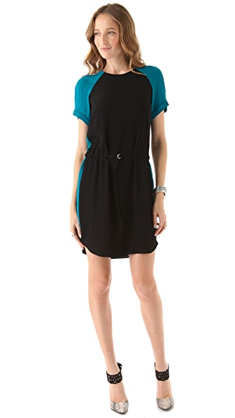 Rebecca Taylor Colorblock Dress