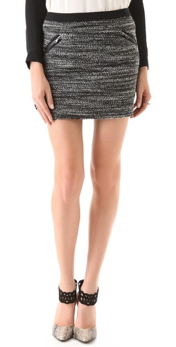 Rebecca Taylor Boucle Skirt at Shopbop.com