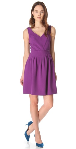 Rebecca Taylor Crepe Femme Dress at Shopbop.com