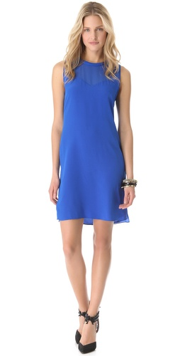 Rebecca Taylor Classic Silk Shift Dress at Shopbop.com