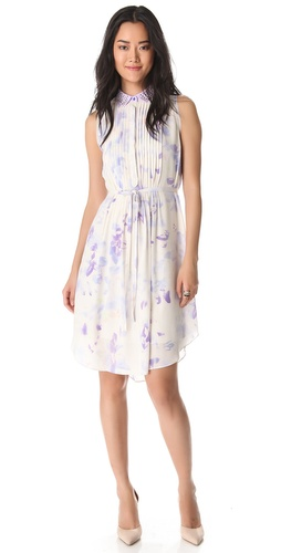 Rebecca Taylor Hawaii Dress with Beaded Collar at Shopbop.com