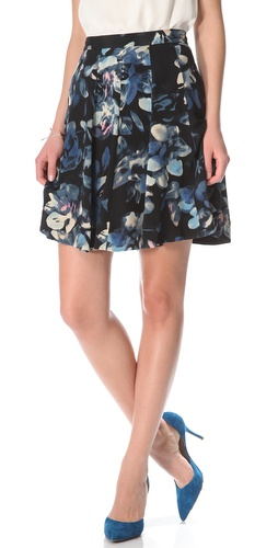 Rebecca Taylor Hawaii Flared Skirt at Shopbop.com