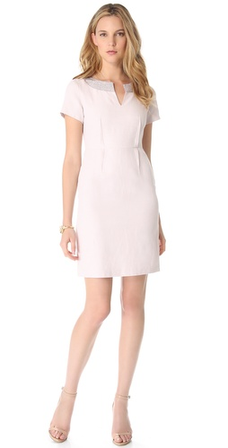 Shop Rebecca Taylor Studded Linen Dress and Rebecca Taylor online - Apparel, Womens, Dresses, Day_to_Night,  online Store