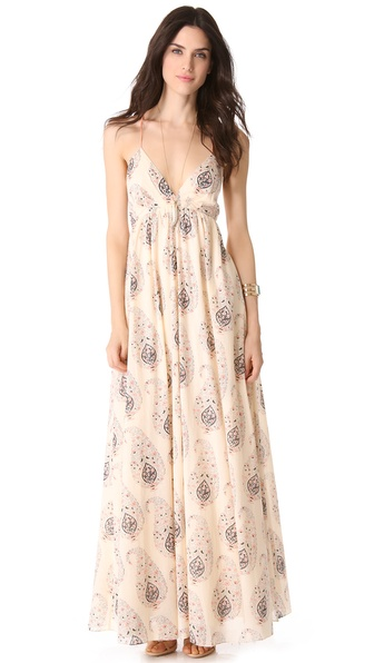 Rebecca Taylor Paisley Gown