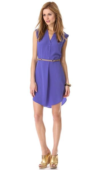 Rebecca Taylor Belted Dress