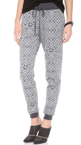 Rebecca Taylor Croc Slouch Pants