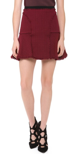 Rebecca Taylor Tweed Flounce Skirt at Shopbop / East Dane