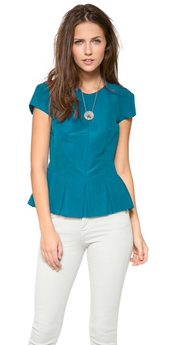Rebecca Taylor Flutter Top at Shopbop / East Dane