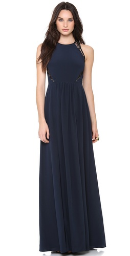Rebecca Taylor Inset Maxi Dress at Shopbop / East Dane