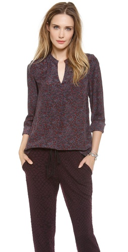 Rebecca Taylor Midway Gardens Blouse at Shopbop / East Dane