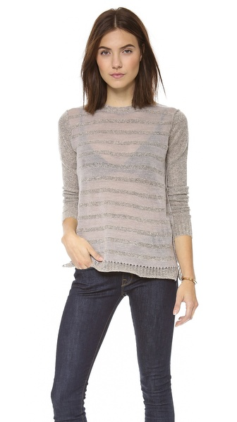 Rebecca Taylor Striped Sweater