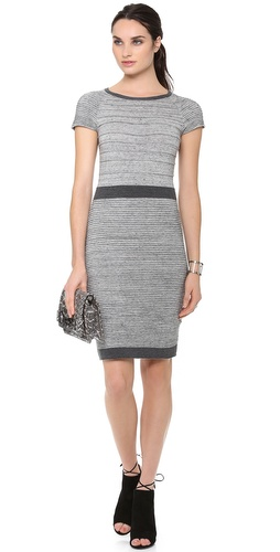 Rebecca Taylor Ribbed Dress at Shopbop / East Dane