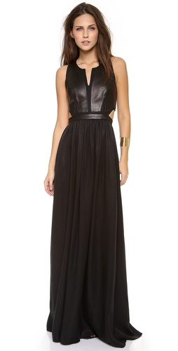 Rebecca Taylor Sleeveless Cutout Maxi Dress at Shopbop / East Dane