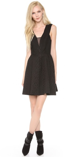 Rebecca Taylor Halter Cloque Dress at Shopbop / East Dane