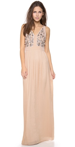 Rebecca Taylor Scroll Embellished Gown at Shopbop / East Dane