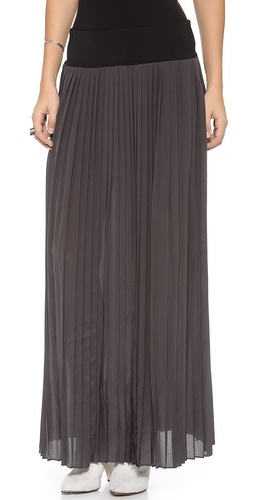 Rebecca Taylor Maxi Pleated Skirt at Shopbop / East Dane