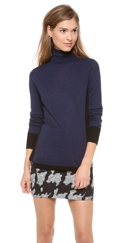 Rebecca Taylor Space Dye Turtleneck at Shopbop / East Dane