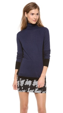 Rebecca Taylor Space Dye Turtleneck