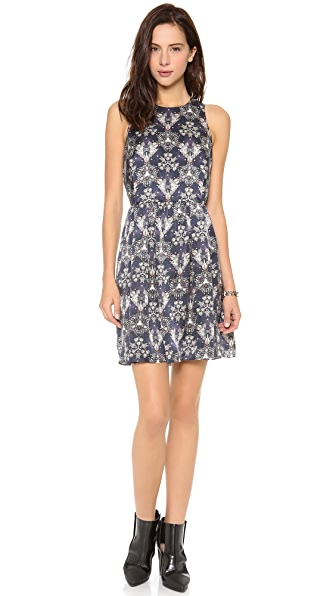 Rebecca Taylor Sleeveless Kaleidoscope Dress
