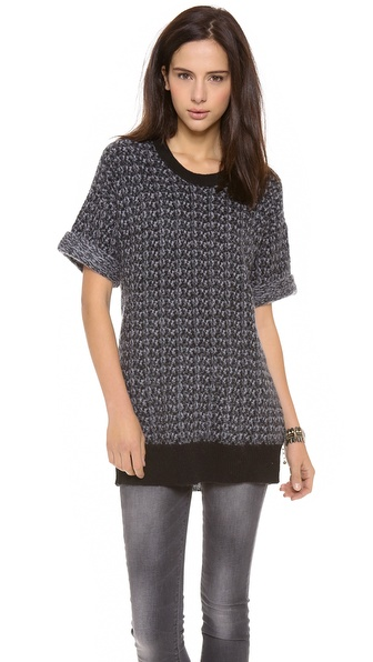 Rebecca Taylor Short Sleeve Pullover