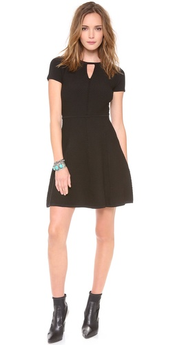 Rebecca Taylor Diamond Stretch Dress at Shopbop / East Dane